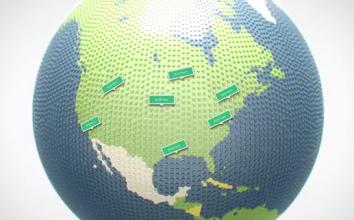 Google、LEGOで創るバーチャルワールドを発表。世界中でブロックアートが建設中