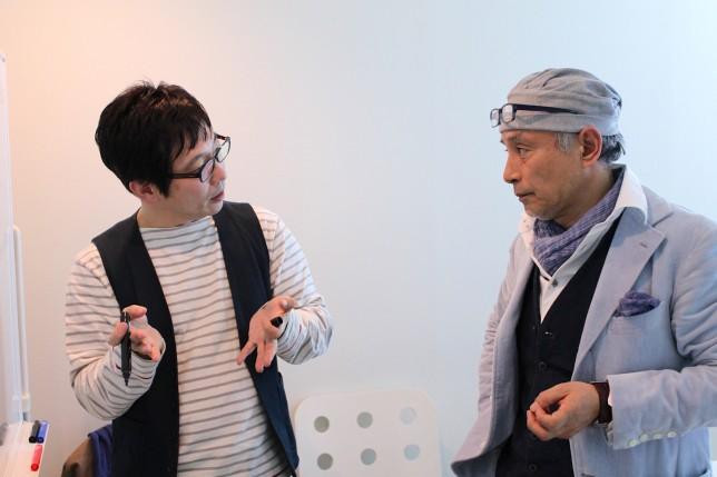 伝説のリーダー浅井浩一氏とループス代表斉藤徹