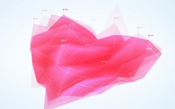 Facebook、バレンタインデーにちなんで交際ステータスの分析結果を公開